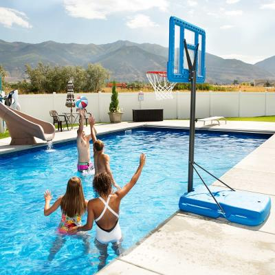 Lifetime Pool Side Adjustable Portable Basketball Hoop (44-Inch Polycarbonate) photo