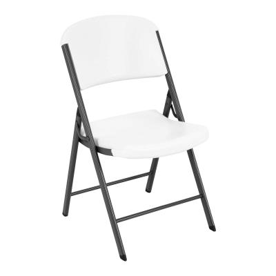 Classic Commercial Folding Chair (white granite) photo