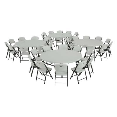 Lifetime 72 Inch Round Table Commercial