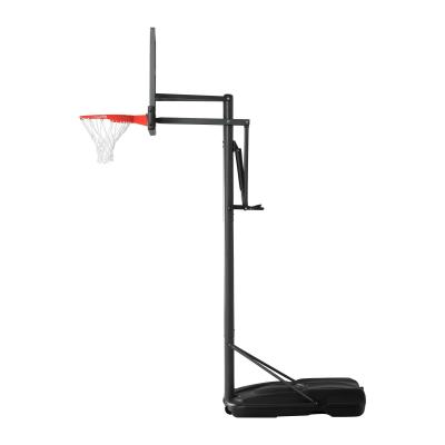 Lifetime's portable basketball hoops are the perfect option for beginning and seasoned players alike! Simply move your hoop to the perfect place in your yard or driveway, and adjust the rim with one hand from 7.5-10 ft to a height you're comfortable with. The backboard combines a steel frame with an acrylic playing surface, making it durable and weather resistant. From pick-up games to shooting competitions, this hoop will be a hit with everyone who plays. photo