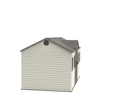 Lifetime 15 Ft. x 8 Ft. Outdoor Storage Shed  photo