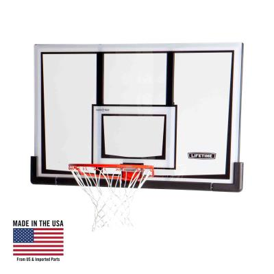 Lifetime Basketball Backboard and Rim (52-Inch Polycarbonate) photo