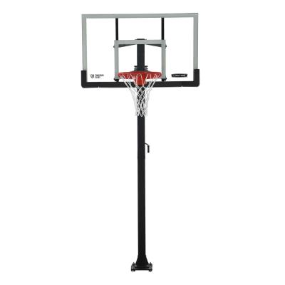 Lifetime Adjustable Bolt Down Basketball Hoop (60-Inch Tempered Glass) photo