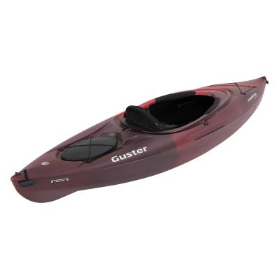 The Lifetime Guster Kayak provides the perfect combination of comfort, stability, and performance in an exceptionally versatile package. The Guster is made from High-Density Polyethylene (HDPE) with a design and size that is easy to handle on and off the water. The ST Performance Hull design provides the speed, tracking, and maneuverability for just about every water condition from large lakes and bays to slow moving rivers and creeks. This kayak model is equipped with our Ledge Lock Paddle Keeper and other great features for comfort and convenience. photo