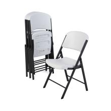 Classic Commercial Folding Chair (white granite) - 4pk photo