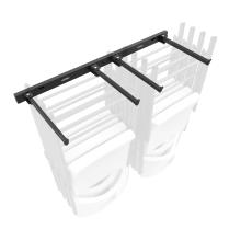 Wall-Mounted Chair Rack