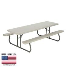 Lifetime 8-Foot Classic Folding Picnic Table  photo