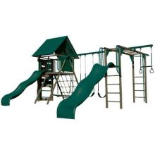 Lifetime Big Stuff Deluxe Swing Set (Earthtone) photo