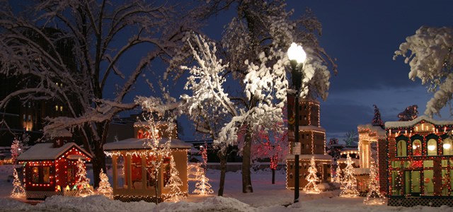 Ogden Christmas Village 2020 Lifetime Blog: A Lifetime Christmas Shed Downtown